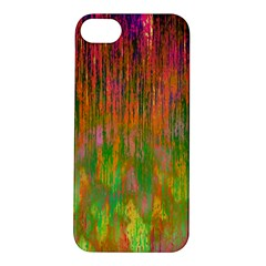 Abstract Trippy Bright Melting Apple iPhone 5S/ SE Hardshell Case