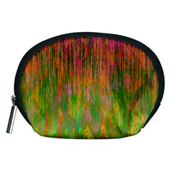 Abstract Trippy Bright Melting Accessory Pouches (Medium)