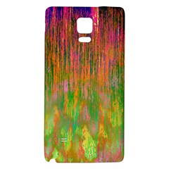 Abstract Trippy Bright Melting Galaxy Note 4 Back Case