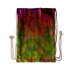 Abstract Trippy Bright Melting Drawstring Bag (Small)