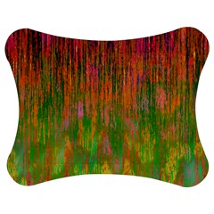 Abstract Trippy Bright Melting Jigsaw Puzzle Photo Stand (bow)