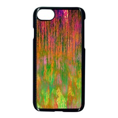 Abstract Trippy Bright Melting Apple Iphone 7 Seamless Case (black)