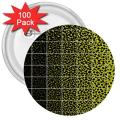 Pixel Gradient Pattern 3  Buttons (100 pack)