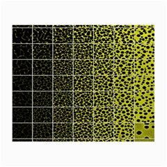 Pixel Gradient Pattern Small Glasses Cloth