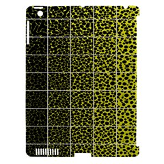 Pixel Gradient Pattern Apple iPad 3/4 Hardshell Case (Compatible with Smart Cover)