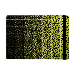 Pixel Gradient Pattern Apple Ipad Mini Flip Case