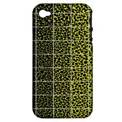 Pixel Gradient Pattern Apple iPhone 4/4S Hardshell Case (PC+Silicone)