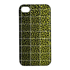 Pixel Gradient Pattern Apple iPhone 4/4S Hardshell Case with Stand