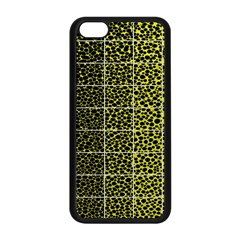 Pixel Gradient Pattern Apple iPhone 5C Seamless Case (Black)