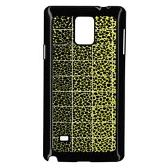 Pixel Gradient Pattern Samsung Galaxy Note 4 Case (black)