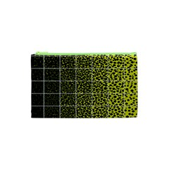 Pixel Gradient Pattern Cosmetic Bag (XS)