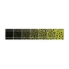 Pixel Gradient Pattern Flano Scarf (Mini)