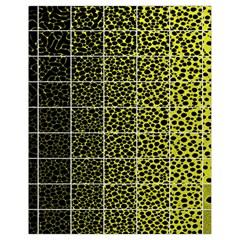 Pixel Gradient Pattern Drawstring Bag (small)
