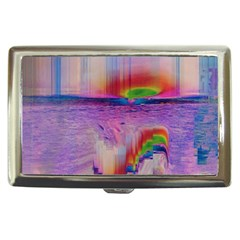 Glitch Art Abstract Cigarette Money Cases