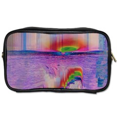 Glitch Art Abstract Toiletries Bags