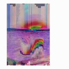 Glitch Art Abstract Small Garden Flag (Two Sides)
