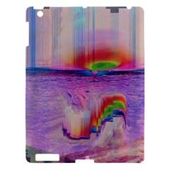 Glitch Art Abstract Apple iPad 3/4 Hardshell Case