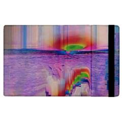Glitch Art Abstract Apple iPad 3/4 Flip Case