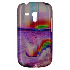 Glitch Art Abstract Galaxy S3 Mini