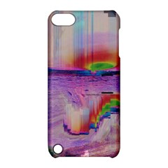 Glitch Art Abstract Apple iPod Touch 5 Hardshell Case with Stand