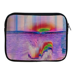 Glitch Art Abstract Apple Ipad 2/3/4 Zipper Cases