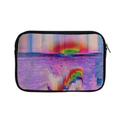 Glitch Art Abstract Apple iPad Mini Zipper Cases