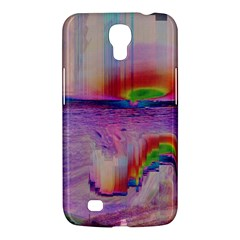 Glitch Art Abstract Samsung Galaxy Mega 6 3  I9200 Hardshell Case