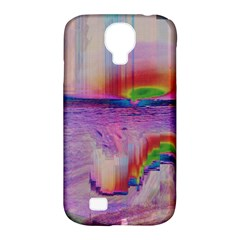 Glitch Art Abstract Samsung Galaxy S4 Classic Hardshell Case (PC+Silicone)