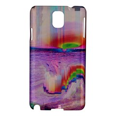 Glitch Art Abstract Samsung Galaxy Note 3 N9005 Hardshell Case