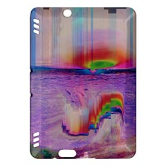 Glitch Art Abstract Kindle Fire HDX Hardshell Case