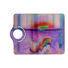 Glitch Art Abstract Kindle Fire HD (2013) Flip 360 Case