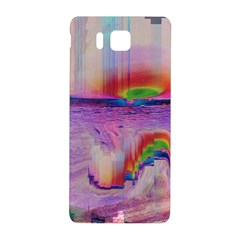 Glitch Art Abstract Samsung Galaxy Alpha Hardshell Back Case