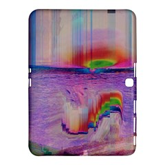 Glitch Art Abstract Samsung Galaxy Tab 4 (10.1 ) Hardshell Case