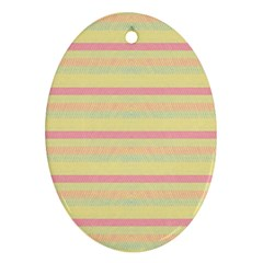 Lines Oval Ornament (Two Sides)