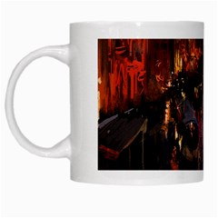 River Venice Gondolas Italy Artwork Painting White Mugs