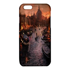 River Venice Gondolas Italy Artwork Painting iPhone 6/6S TPU Case
