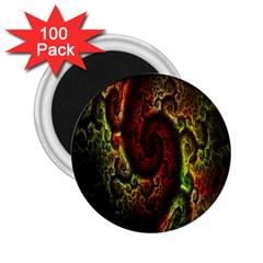Fractal Digital Art 2.25  Magnets (100 pack)