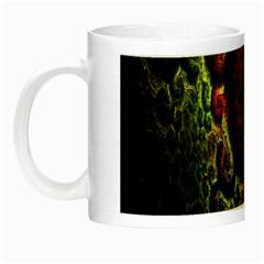 Fractal Digital Art Night Luminous Mugs