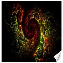 Fractal Digital Art Canvas 12  x 12
