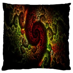 Fractal Digital Art Large Cushion Case (One Side)