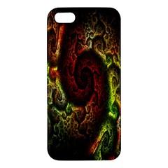 Fractal Digital Art Apple Iphone 5 Premium Hardshell Case