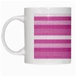 Lines White Mugs Left