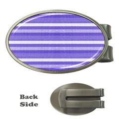 Lines Money Clips (Oval)