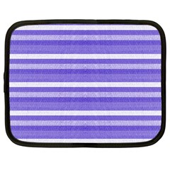 Lines Netbook Case (Large)