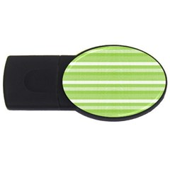 Lines USB Flash Drive Oval (4 GB)