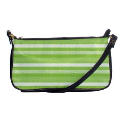 Lines Shoulder Clutch Bags