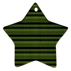 Lines Star Ornament (Two Sides)