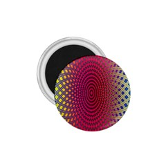 Abstract Circle Colorful 1 75  Magnets