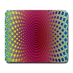 Abstract Circle Colorful Large Mousepads