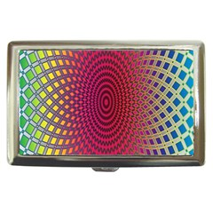 Abstract Circle Colorful Cigarette Money Cases